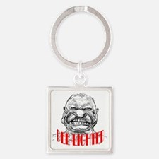 ART TR is Dee-lighted 2 Square Keychain