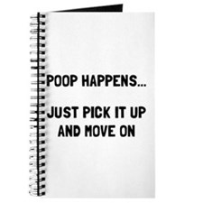 Poop Happens Journal