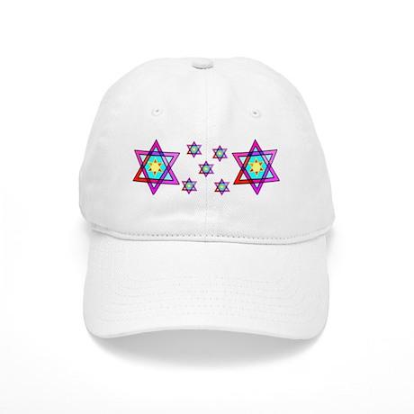 Jewish Star Of David Cap