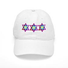 Jewish Star Of David Baseball Cap
