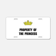 Property Of Princess Aluminum License Plate