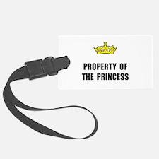 Property Of Princess Luggage Tag