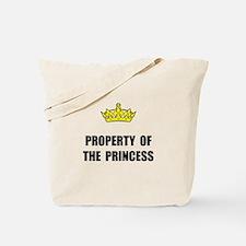 Property Of Princess Tote Bag