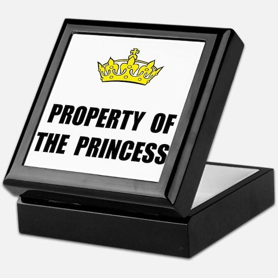 Property Of Princess Keepsake Box