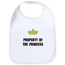 Property Of Princess Bib