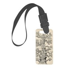 pdt-Tree_of_life_by_Haeckel Luggage Tag