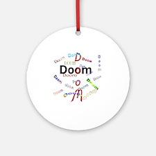 doom Round Ornament