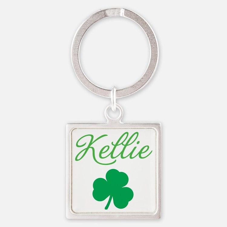 kellie-apron Square Keychain