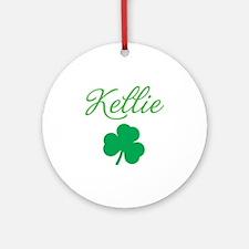 kellie-apron Round Ornament