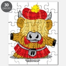 Highland-Cow-Red-Kilt-2009 Puzzle
