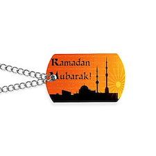 ramadanmubarak Dog Tags