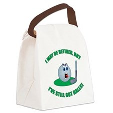 R-Golf-Balls Canvas Lunch Bag