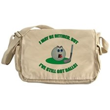 R-Golf-Balls Messenger Bag