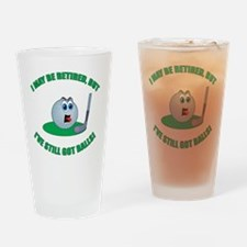 R-Golf-Balls Drinking Glass