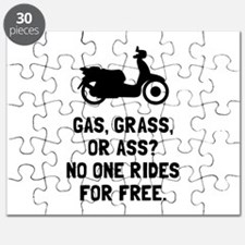 Scooter Gas Grass Ass Puzzle