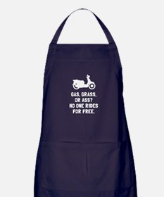 Scooter Gas Grass Ass Apron (dark)