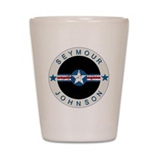 Seymour Johnson boxer4x6 Shot Glass