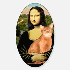 Mona Lisa - Abyssinian (red) Decal