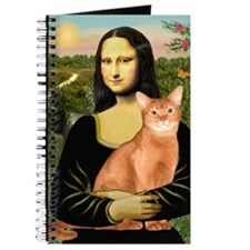 Mona Lisa - Abyssinian (red) Journal