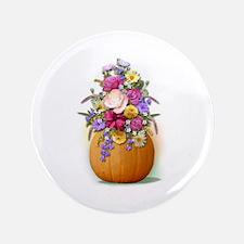 """Pumpkin Bouquet 3.5"""" Button (100 pack)"""