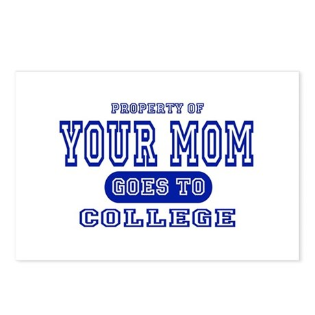Your Mom Goes To College Postcards (Package of 8)
