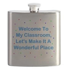 Welcome To My Classroom Flask