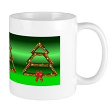 Bacon Tree Green Mug