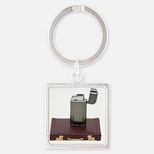 2-HotBusinessA061509 Square Keychain