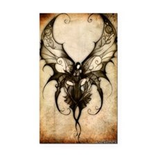 faceless_fairy_edit_by_sinsla Rectangle Car Magnet