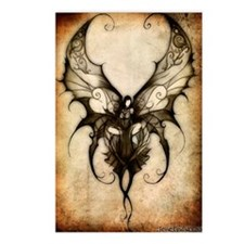 faceless_fairy_edit_by_si Postcards (Package of 8)
