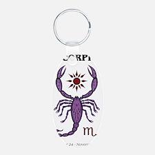 scorpion sun raglan Keychains
