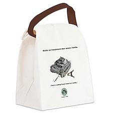 Conquer a Little Canvas Lunch Bag