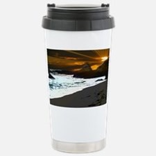 bodega bay flowers 374 Stainless Steel Travel Mug