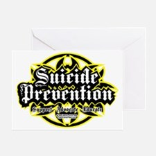 Suicide-Prevention-Tribal Greeting Card