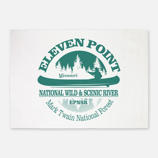 Eleven Point River 5'x7'Area Rug