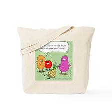 onioncolorwebstamp Tote Bag