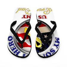 prouddad_army Flip Flops