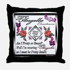 smart wmn10 x 10 copy Throw Pillow