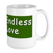 ENDLESS LOVE bumper sticker Mug