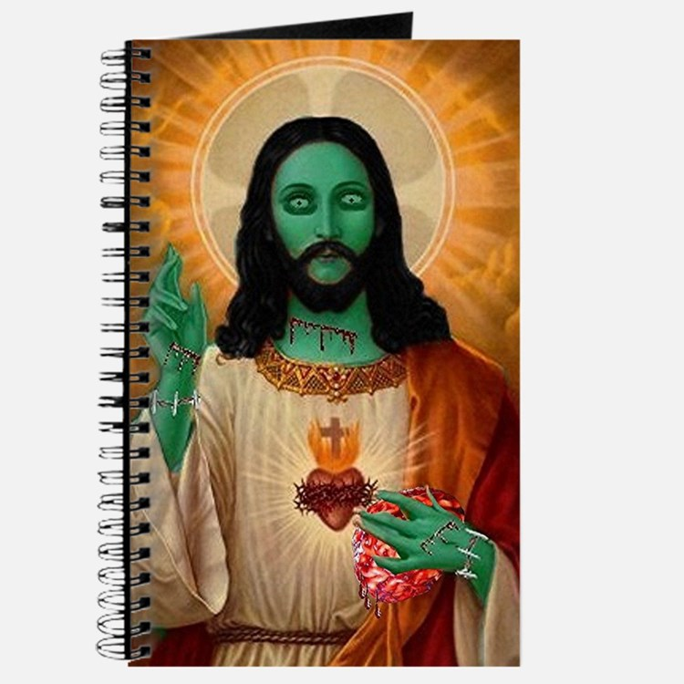 Zombie Jesus Loves Brains Journal