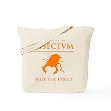 Carpe Insetum D orange 2 Tote Bag