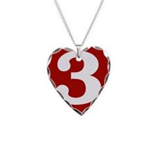 Happy Third Anniversary Necklace