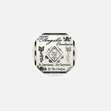 Blk Wht 10 x10 copy Mini Button