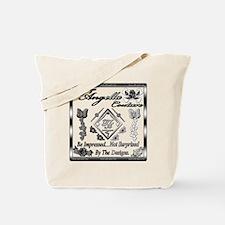 Blk Wht 10 x10 copy Tote Bag