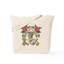 Wht Gld_wmn10 x 10 copy Tote Bag