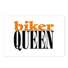 BIKER QUEEN Postcards (Package of 8)