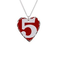 Happy Fifth Anniversary Necklace