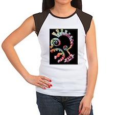 punk-graph-CRD Women's Cap Sleeve T-Shirt