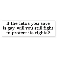 fetusT Bumper Sticker