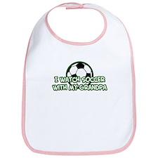 NEW! Soccer Grandparents Bib